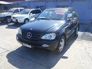 2003 Mercedes-Benz ML Wagon RENT TO OWN $3000 DEPOSIT. Holroyd Parramatta Area Preview