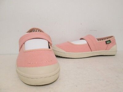 Simple Womens Cactus Canvas Mary Jane Style Slip-On Loafers Dusty Pink Size 7 M ()