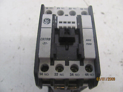 General Electric Cr7rb31 24v Contactor Relay