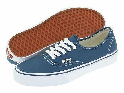 Vans Authentic Navy Blue Men's Women's Classic Canvas Shoes