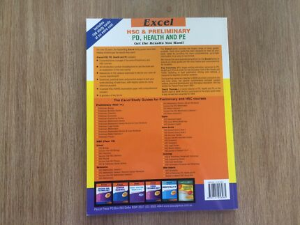 HSC Textbook - PDHPE Excel