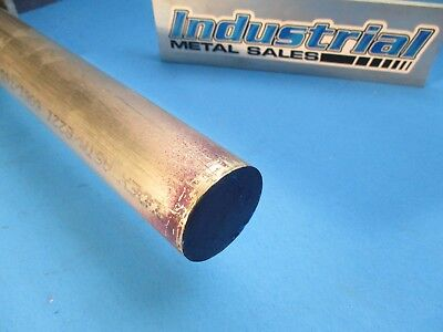 1-34 Dia X 12-long 6061 T6511 Aluminum Round Bar--1.750 6061 Lathe Stock