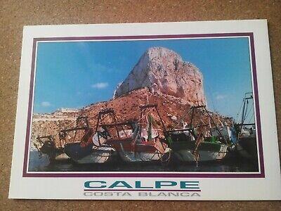 CALPE - Costa Blanca unused postcard c2008