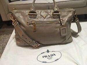 Authentic beautiful and rare Prada crossbody leather bag