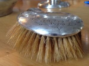 Birks sterling hair brush