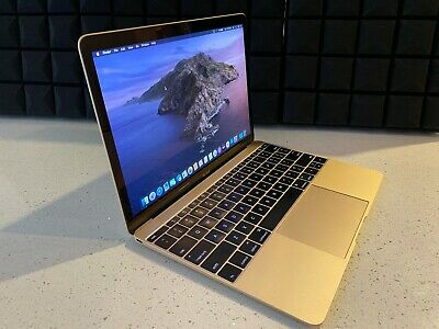 "2015 Macbook 12"" Retina (Gold) @1.2GHz, 8GB RAM, 512GB SSD (Excellent Condition)"