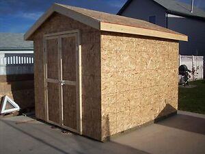 8x10 SHEDS BUILT LIKE A HOUSE ONLY $1400