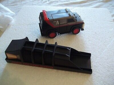 Vintage 1980s A Team Van Rough Riders + Knight Rider Turbo Booster