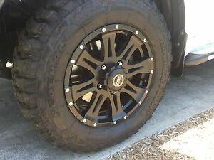 "18"" CSA RAPTOR WHEELS & FEDERAL M/T TYRES SET- Toyota Landcruiser Burleigh Waters Gold Coast South Preview"