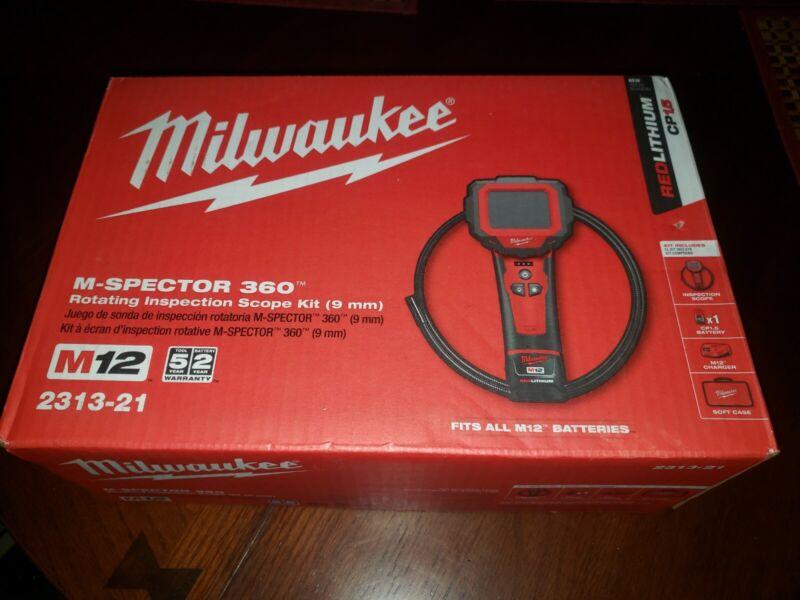 Milwaukee 2313-21 12-Volt 9mm Camera Lense Digital Inspection Camera Kit