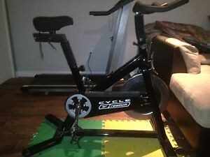commercial grade Reebok spin bike