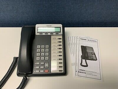 Toshiba Strata Ctx Phone System Dkt3210 Cordless Unit Not Included In Listing