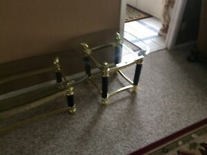3 Glass coffee table for sale good condition