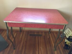 Red Table