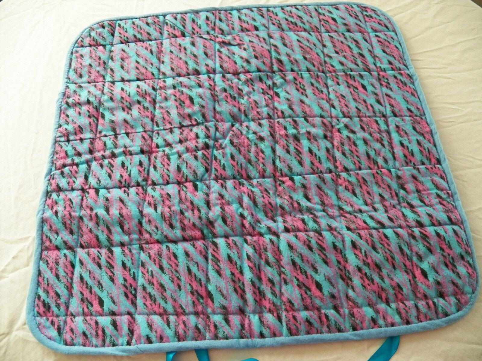 BABY CHANGING PAD Portable Diaper Travel Mat Cotton Washable Padded Handmade NEW 8