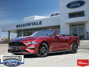 2018 Ford Mustang ECOBOOST PREM.,  CONVERTIBLE LEATHER,NAVIGATIO
