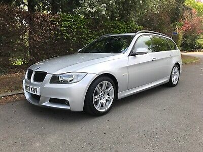 Bmw 320d M Sport, Touring, Manual, 93k,FULL LEATHER,2keys,FULL HISTORY,EXCELLENT
