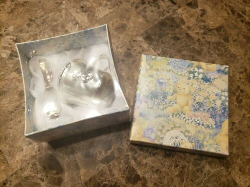 New! Vintage Silverplate Baby Cup & Spoon Set