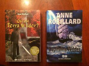 2 LIVRES DE L'AUTEURE ANNE ROBILLARD QUI A FAIT LA SAGA A.N.G.E.