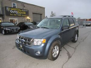 2012 Ford Escape XLT XLT, V6, 4X4, SUNROOF, ACCIDENT FREE, ON...