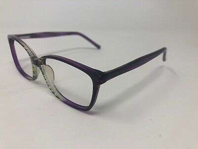 SUCCESS Ss-105 Purple Mist 54-15 140 Zebra Print Eyeglass Frames Only (Zebra Eyeglass Frames)