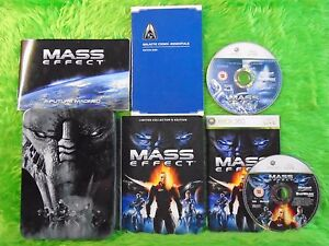 xbox 360 MASS EFFECT *y Limited Tin Collectors Edition Microsoft PAL UK Version