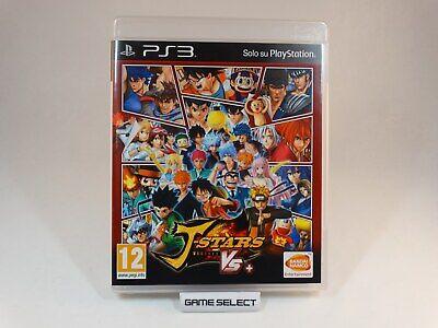 J-STARS VICTORY VS+ + DRAGONBALL NARUTO ONE PIECE KEN PS3 PAL ITALIANO (Dragon Ball Vs One Piece Vs Naruto Game)
