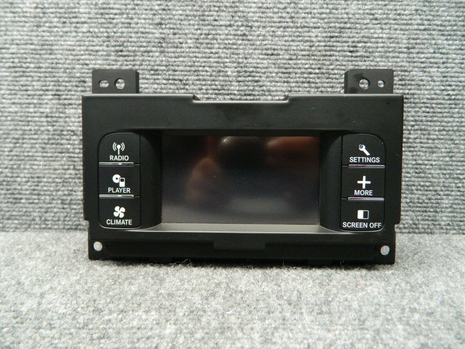 2011 2012 11 12 Chrysler 300 Radio AC Heat Climate Control Information Screen