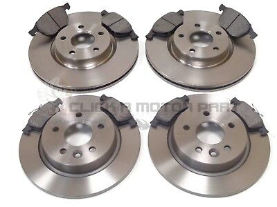 VOLVO C30 1.6 R-DESIGN SPORT DRIVe FRONT & REAR BRAKE DISCS AND PADS SET NEW