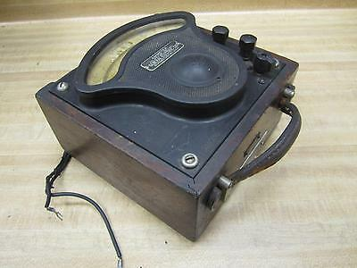 General Electric 719097 Vintage Industrial Ac Amp Meter Wo Lid Antique
