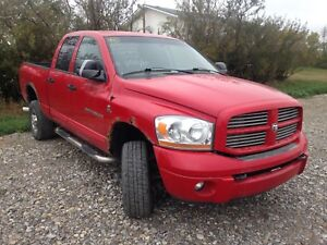 Parting out 2006 Dodge Ram Cummins with auto trans