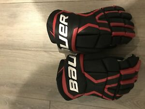 2017 Bauer Supreme 170 senior hockey gloves