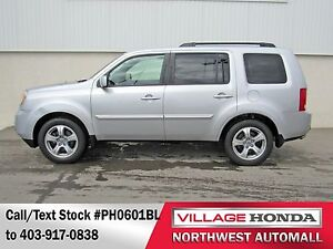 2013 Honda Pilot EX-L RES 4WD | No Accidents | DVD Player |