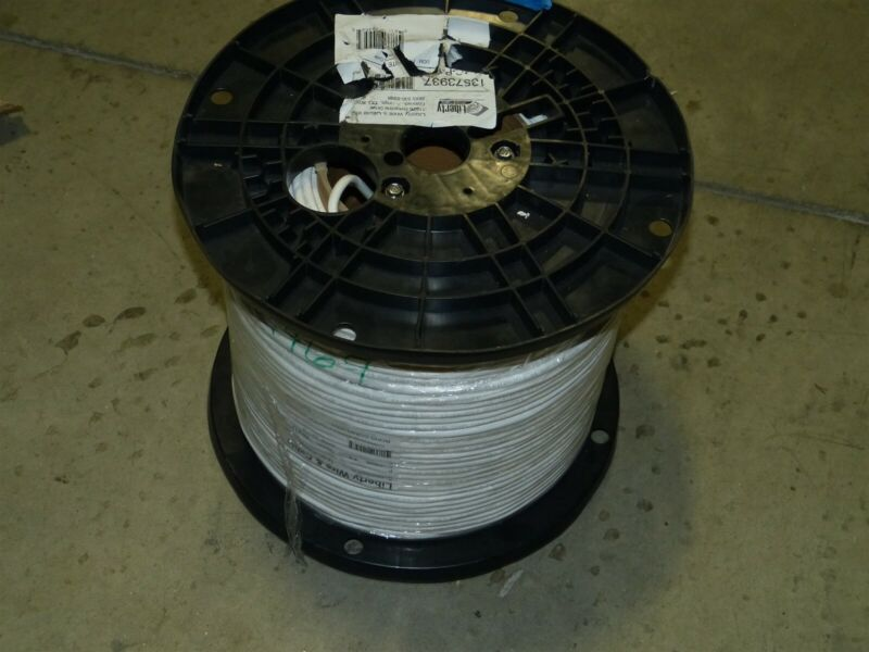 Liberty Wire & Cable 14-4C-P-WHT (1000