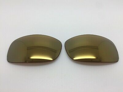 Smith Spoiler Aftermarket Sunglass Replacement Lenses GOLD Mirror Polarized (Smith Sunglasses Replacement Lenses)