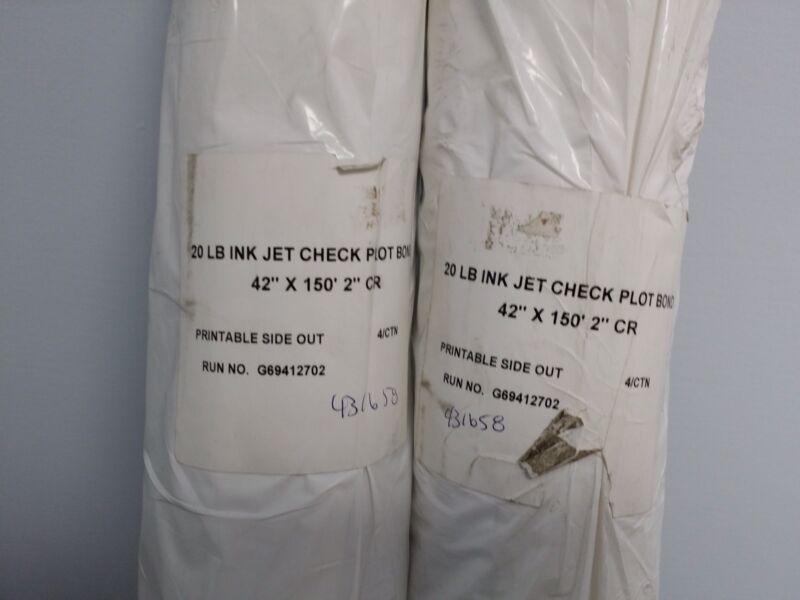 ink jet plotter bond 42 x 150 #20 look save