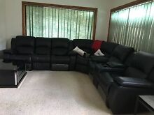 Leather couches Carlton Kogarah Area Preview