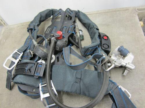 Survivair Panther SCBA Harness, Regulator, Sensors, Frame
