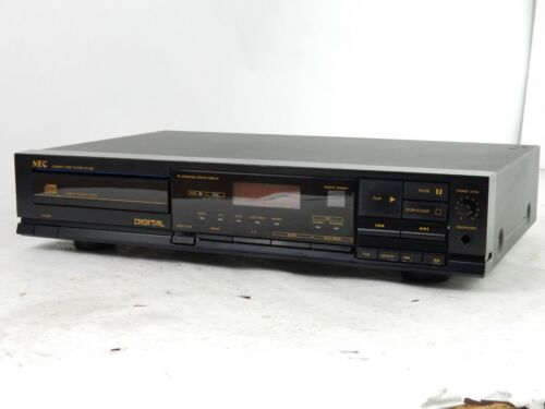 NEC CD-420 CD Compact Disc Player Stereo Single Tray Japan - Fully Functional