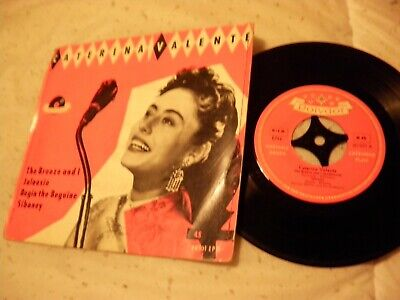 Caterina Valente The Breeze And I Jalousie Begin Polydor EPH 20501 German EP