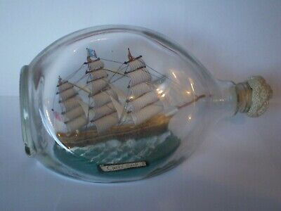 STUNNING VINTAGE SHIP IN A HAIG WHISKY BOTTLE 'THE CUTTY SARK'