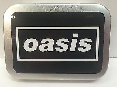 Tabak Lagerung (Oasis Stein Pop Band Musik Schallplatte Retro Zigarette Tabak Lagerung 2oz ML)
