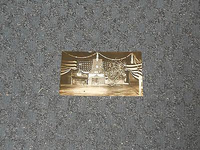 1916 Echt Foto WWI U.S.Armee Schwarz und Weiß Militär Postkarte N.C. S.Verein ()