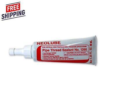 Neolube No. 1260 Pipe Thread Sealant High Temperature Pressure Nuclear Grade