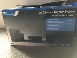 RCA DVD + Home Theatre System