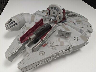 Star Wars Millenium Falcon Toy, with Characters.