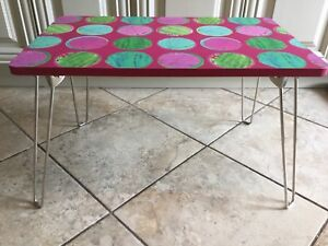 Kids colourful play - eat - homework - craft fold up table