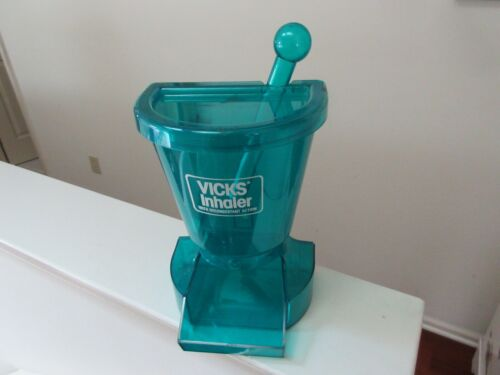Vicks Inhaler , Rx , Pharmacy  Store Counter Top Display , Vintage, Collectible