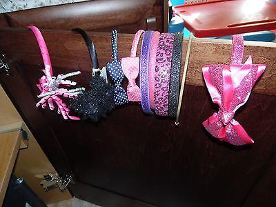 10 Girls Headbands Hair Accessories Head Bands **EUC**