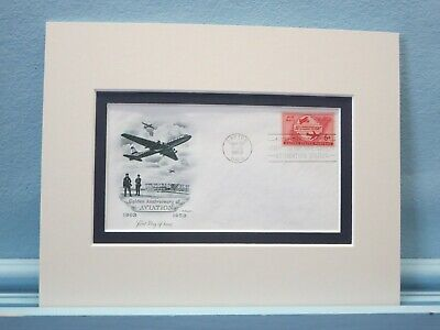 1953 - The 50th Anniversary of Aviation & First Day Cover of its own stamp